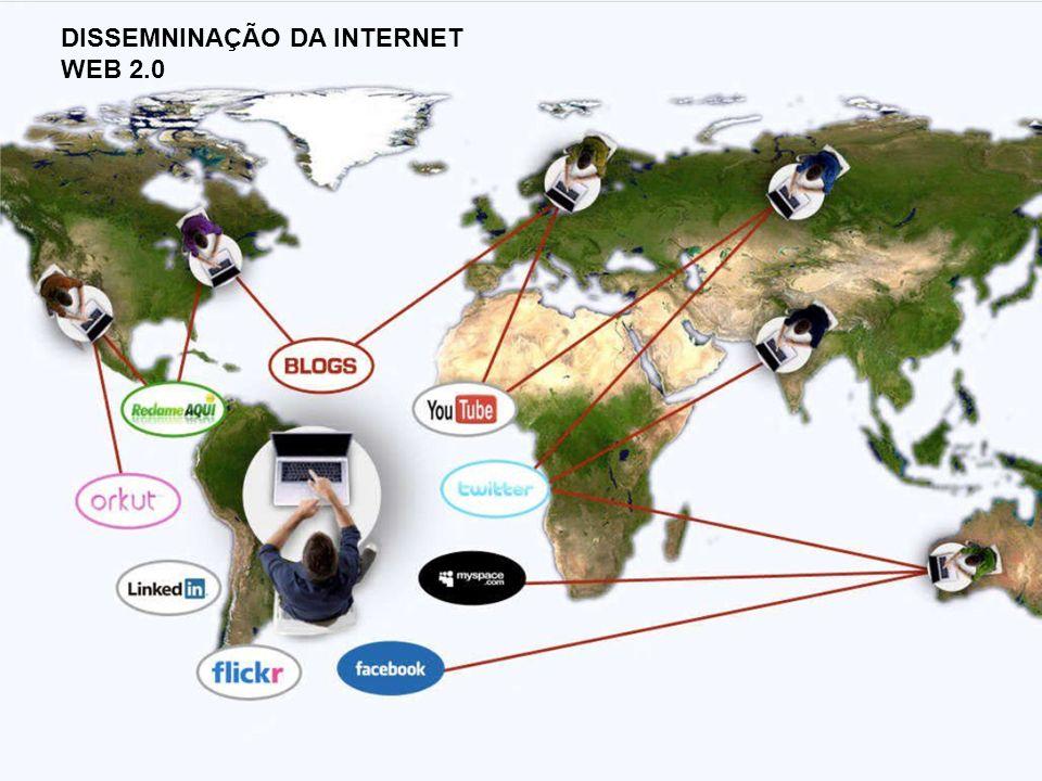 DISSEMNINAÇÃO DA INTERNET WEB 2.0