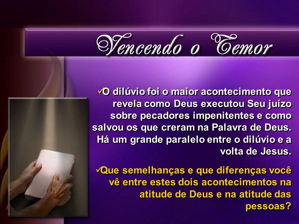 Muitos aguardam a Volta de Jesus com temor e muito medo.