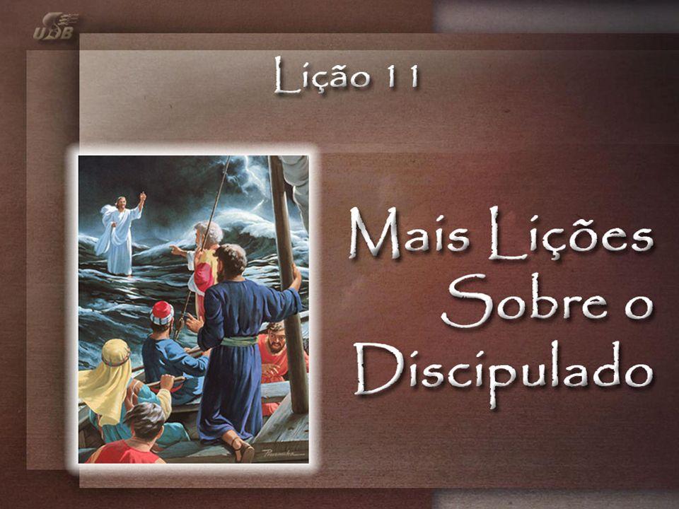 Mas Jesus imediatamente lhes disse: Tende bom ânimo! Sou Eu. Não temais! (Mt 14:27)