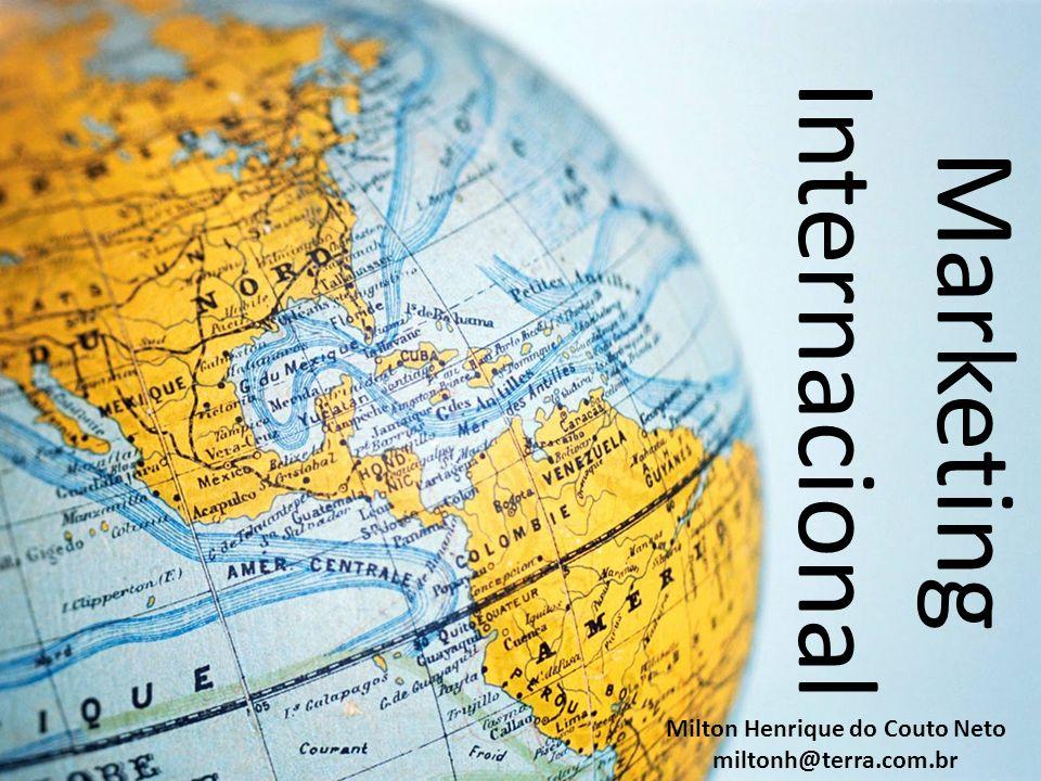 Formas de Atuação no MERCADO EXTERIOR Exportação Parcerias Empresariais Acordos de Cooperação Comercial ou Industrial Licenciamento Alianças Estratégicas Internacionais Joint Ventures Investimento Direto