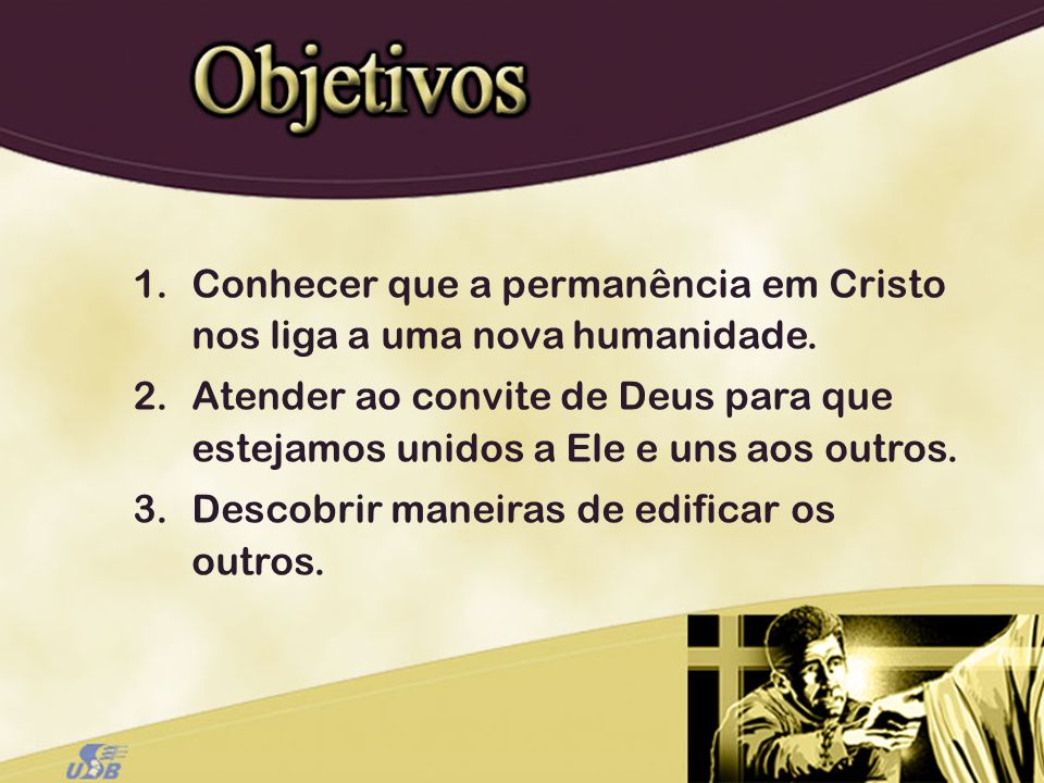 A obra expiatória de Cristo continua quando Ele nos chama para nos tornarmos membros da nova humanidade instituída por Ele em Si mesmo.