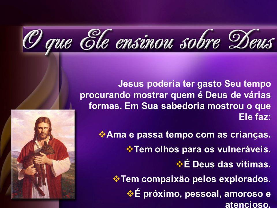 Pai é o modo favorito de Cristo descrever a Deus.44 vezes em Mateus.
