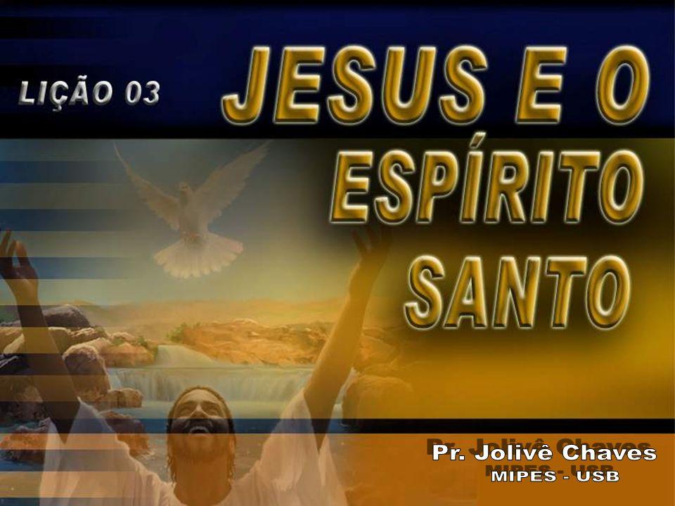 3.Foi pelo Espírito Santo que Ele Se ofereceu a Si mesmo para nos salvar.