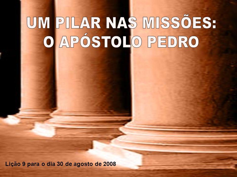 Lição 9 para o dia 30 de agosto de 2008