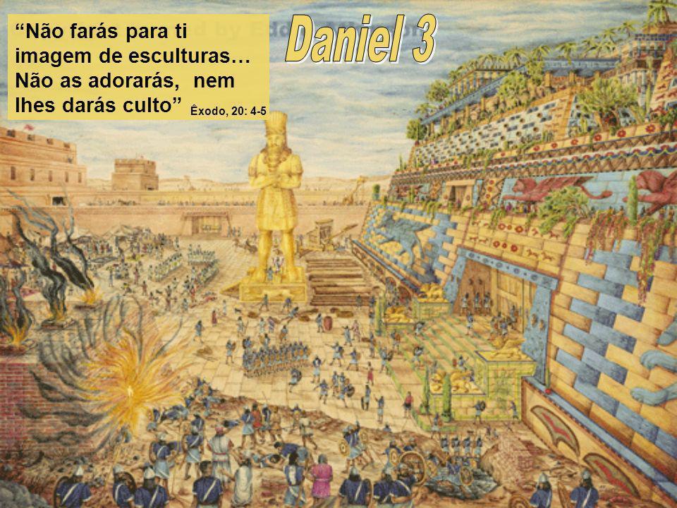 Não farás para ti imagem de esculturas… Não as adorarás, nem lhes darás culto Êxodo, 20: 4-5