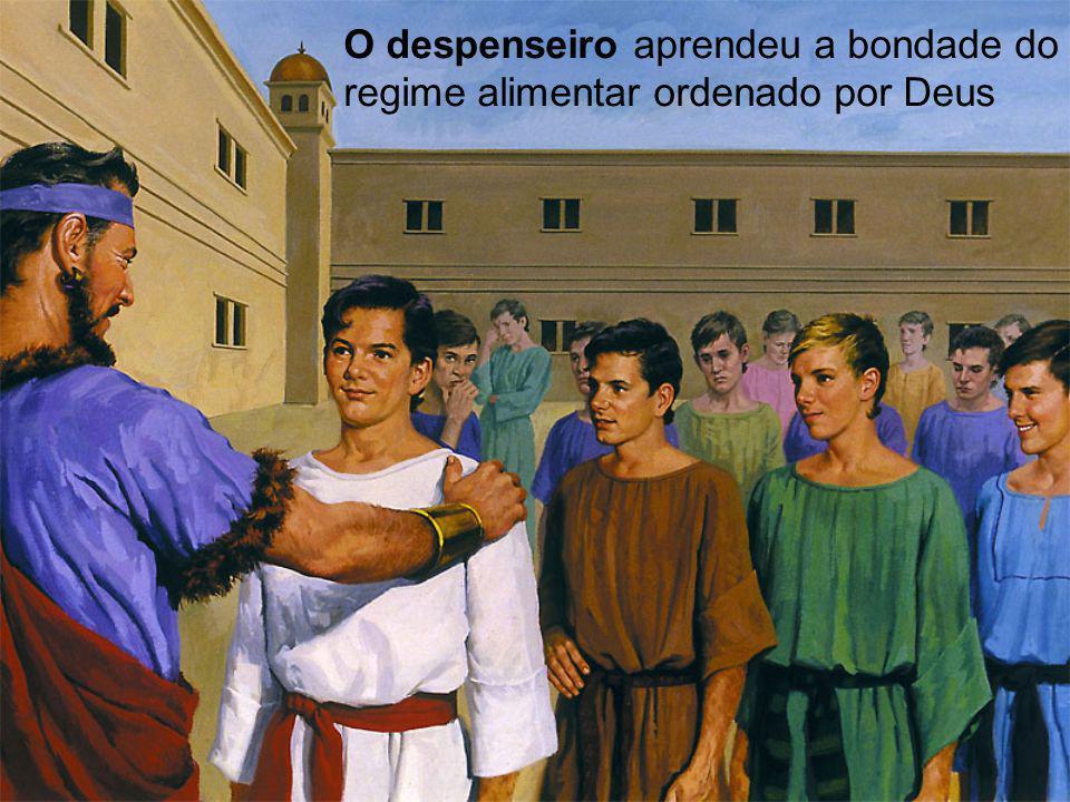 Nabucodonosor lhes encontrou dez vezes mais inteligentes que o resto de seus companheiros