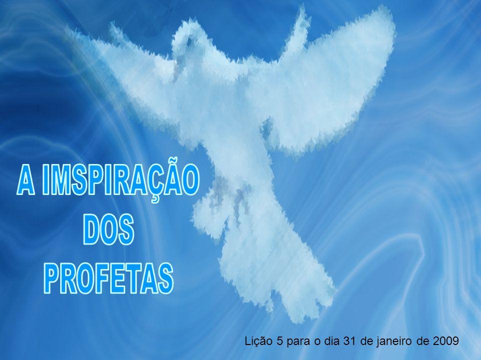Em todos os casos, é o Espírito santo o que há inspirado aos profetas para que possam transmitir as mensagens que Deus lhes há revelado da forma que Ele crer mais conveniente.