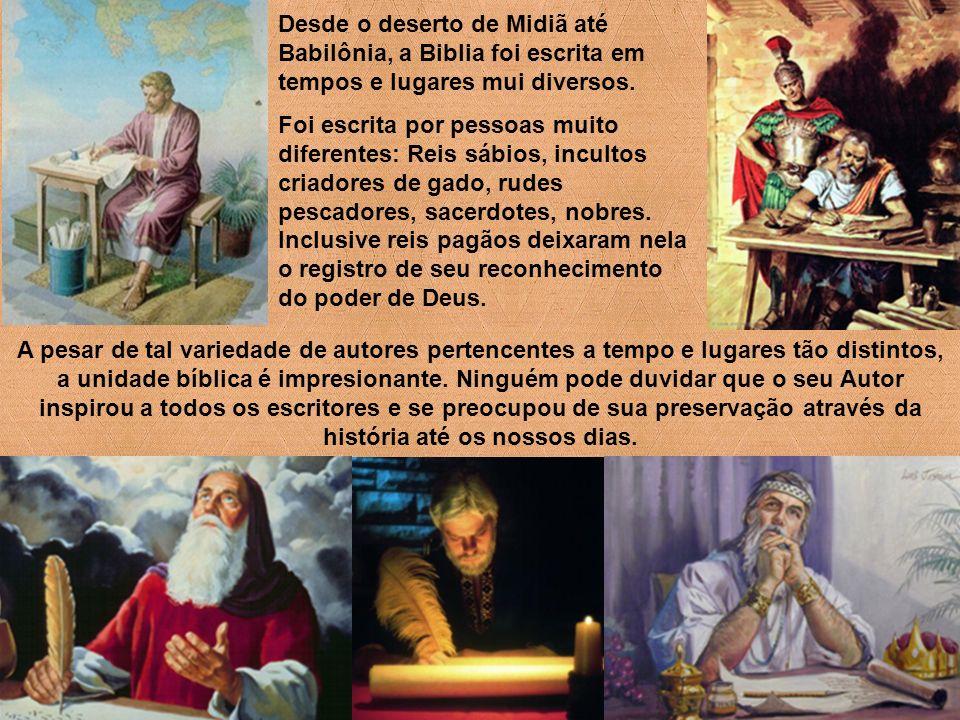 Deus elegeu como meios para comunicar-se com a humanidade caída a natureza, a conciência, os profetas e a palavra escrita.