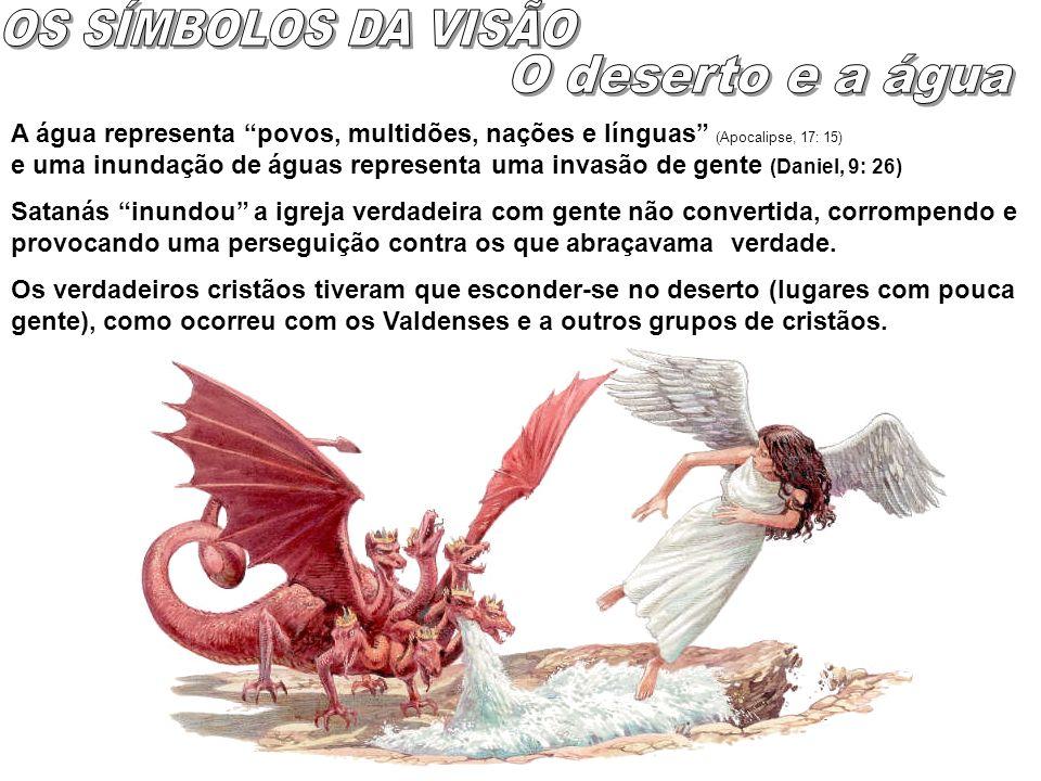 1 Há uma guerra no céu de onde foram expulsos Satanás e seus anjos.
