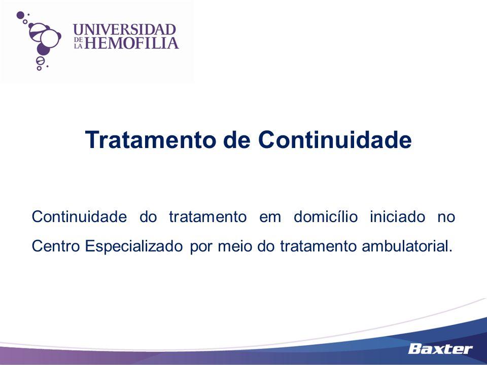 Tratamento de Continuidade Continuidade do tratamento em domicílio iniciado no Centro Especializado por meio do tratamento ambulatorial.