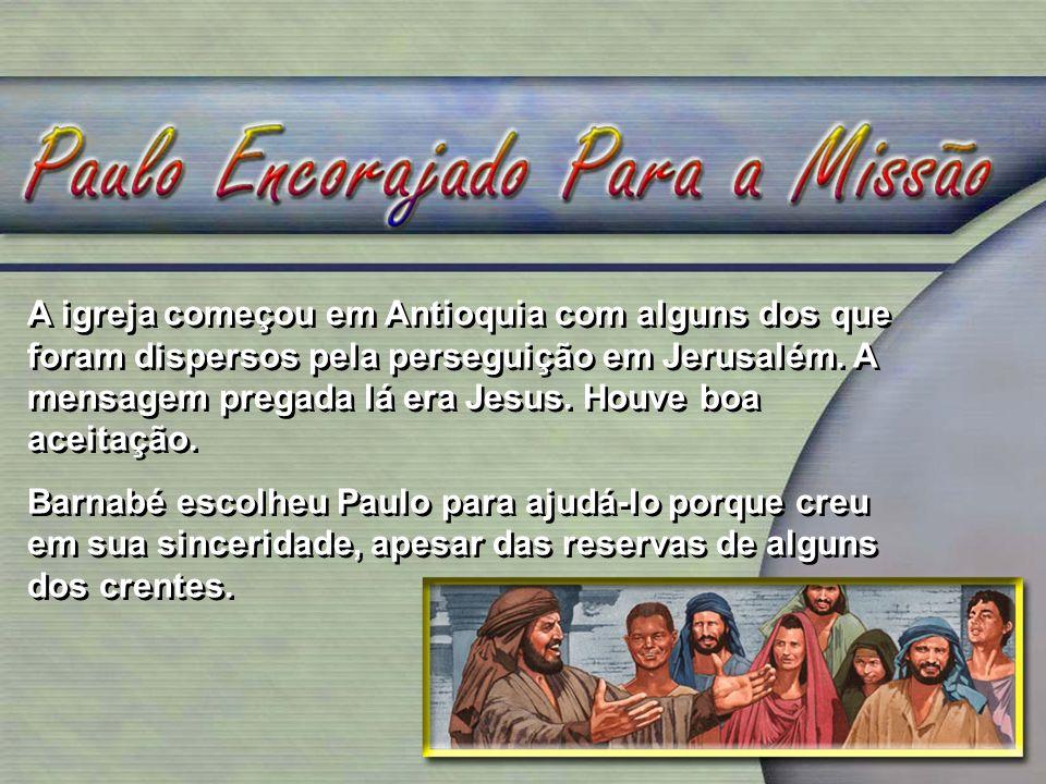 Paulo pregou o evangelho e estabeleceu igrejas na Palestina, no Oriente Médio, na Ásia e em partes da Europa, em cidades estratégicas da região.