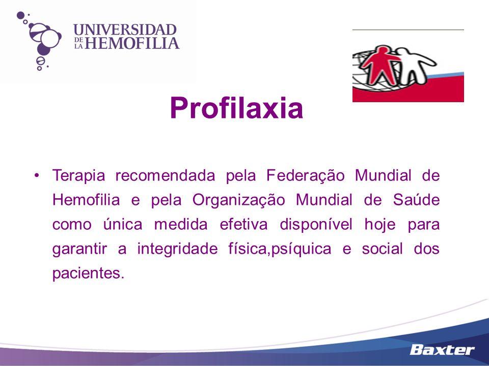 Tratamento dos episódios Hemorrágicos Pacientes anteriormente expostos a fatores de origem plasmática serão tratados com fatores disponibilizados pelo Programa de Coagulopatias do Ministério da Saúde.