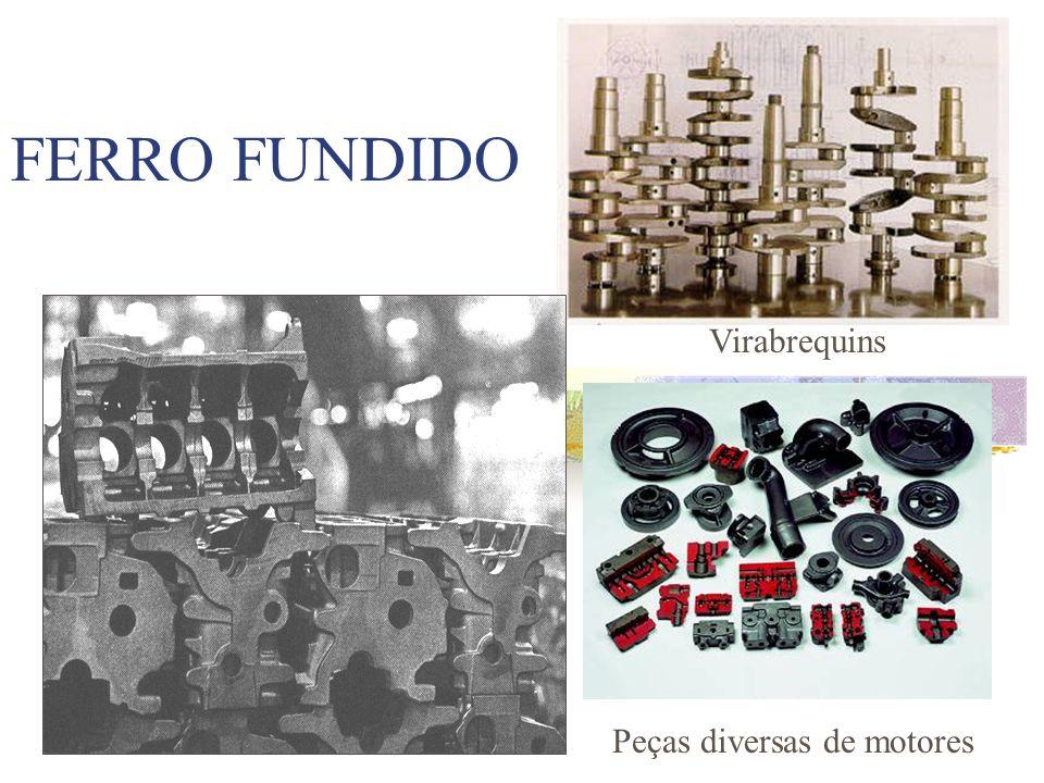 FERRO FUNDIDO Virabrequins Peças diversas de motores