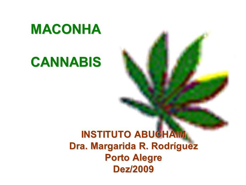 INSTITUTO ABUCHAIM Dra. Margarida R. Rodríguez Porto Alegre Dez/2009 MACONHACANNABIS