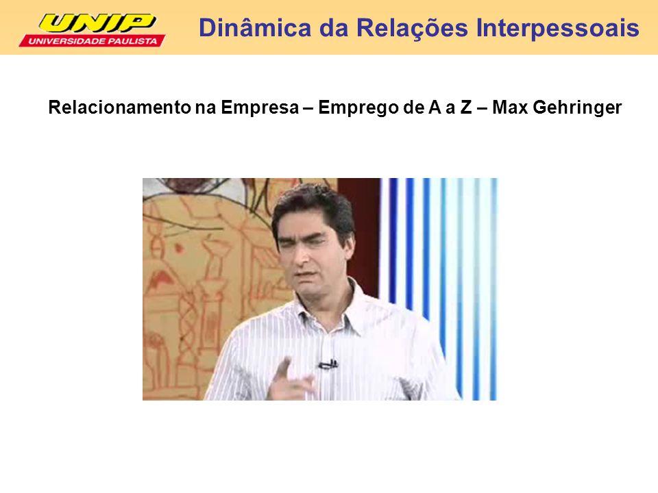 Dinâmica da Relações Interpessoais Carlos Martins F.