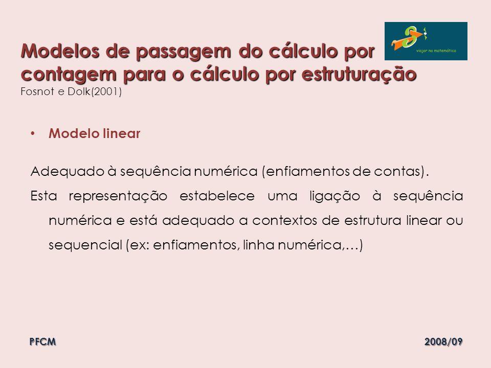 Modelos de passagem do cálculo por contagem para o cálculo por estruturação Modelos de passagem do cálculo por contagem para o cálculo por estruturaçã
