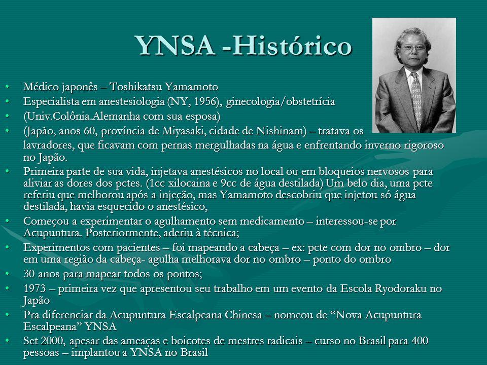 YNSA -Histórico Médico japonês – Toshikatsu YamamotoMédico japonês – Toshikatsu Yamamoto Especialista em anestesiologia (NY, 1956), ginecologia/obstet