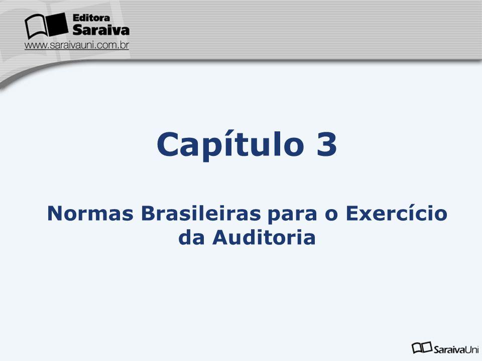 Capítulo 3 Normas Brasileiras para o Exercício da Auditoria