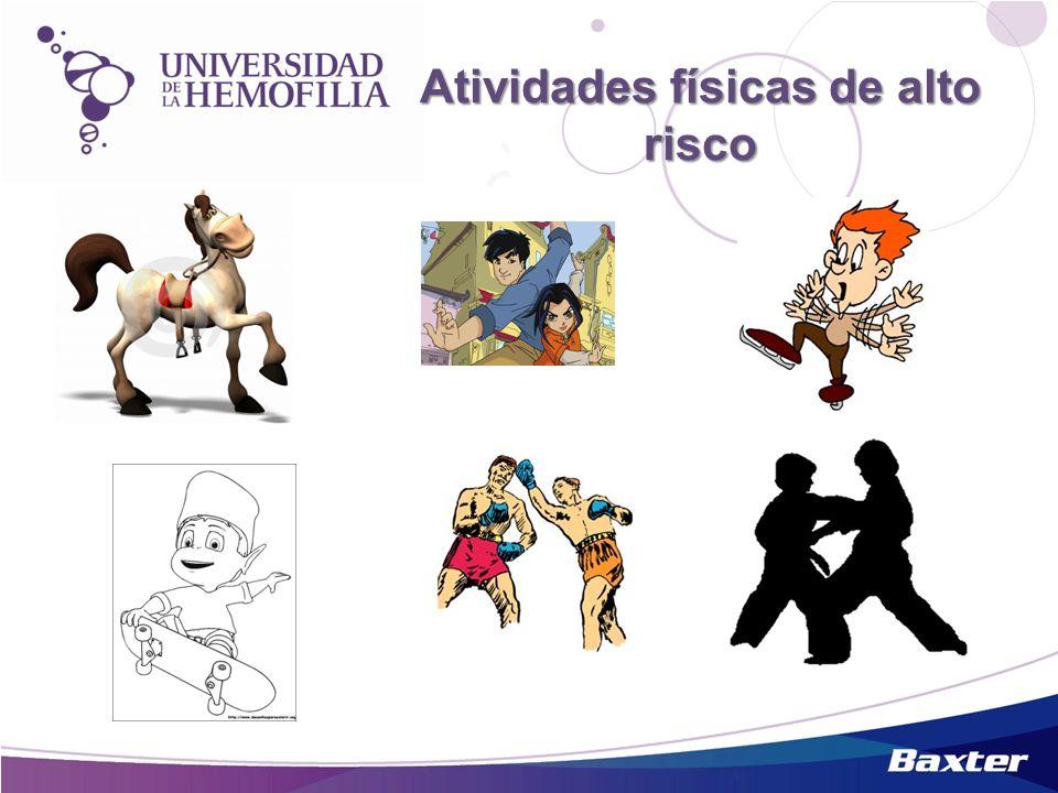 Atividades físicas de alto risco