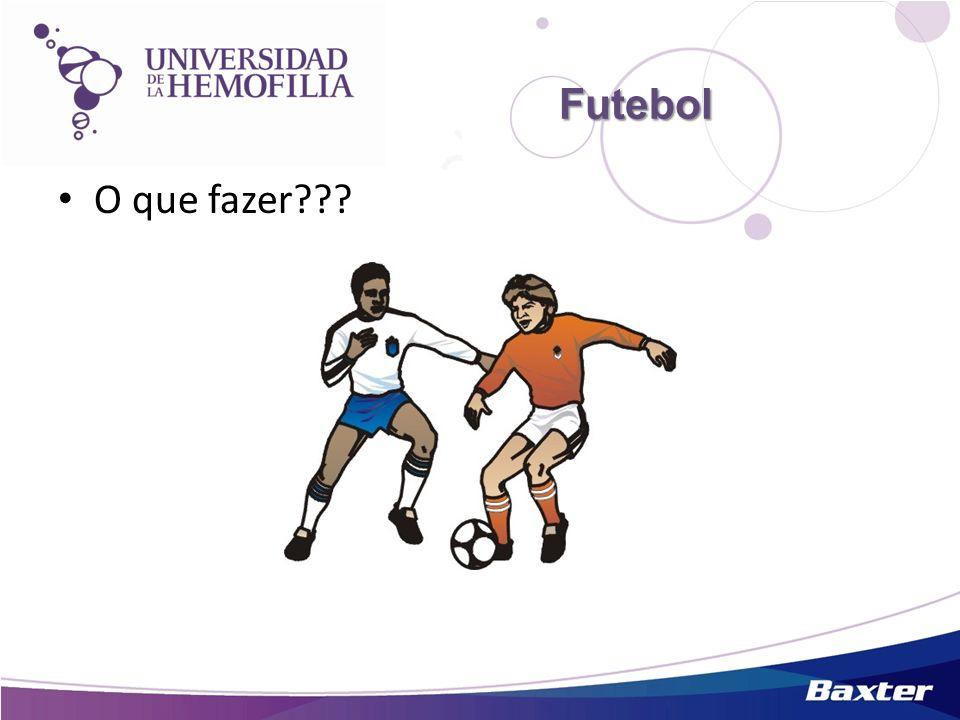 Futebol O que fazer???