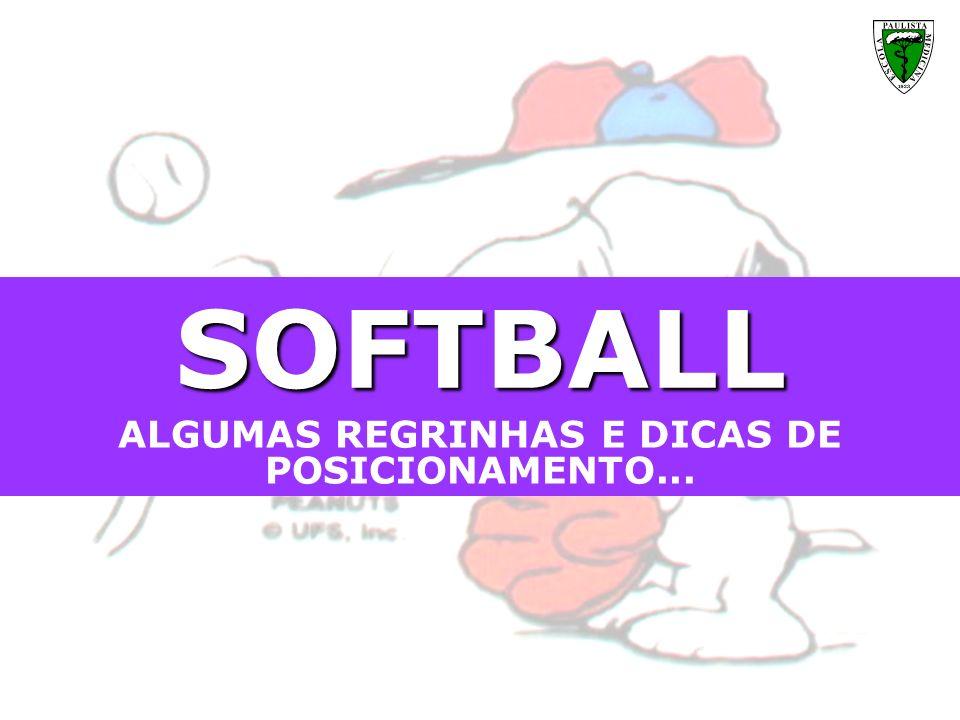 Meninas, aproveitem cada momento que o Softball pode proporcionar a vocês e dêem ao time tudo o que vocês têm de melhor...