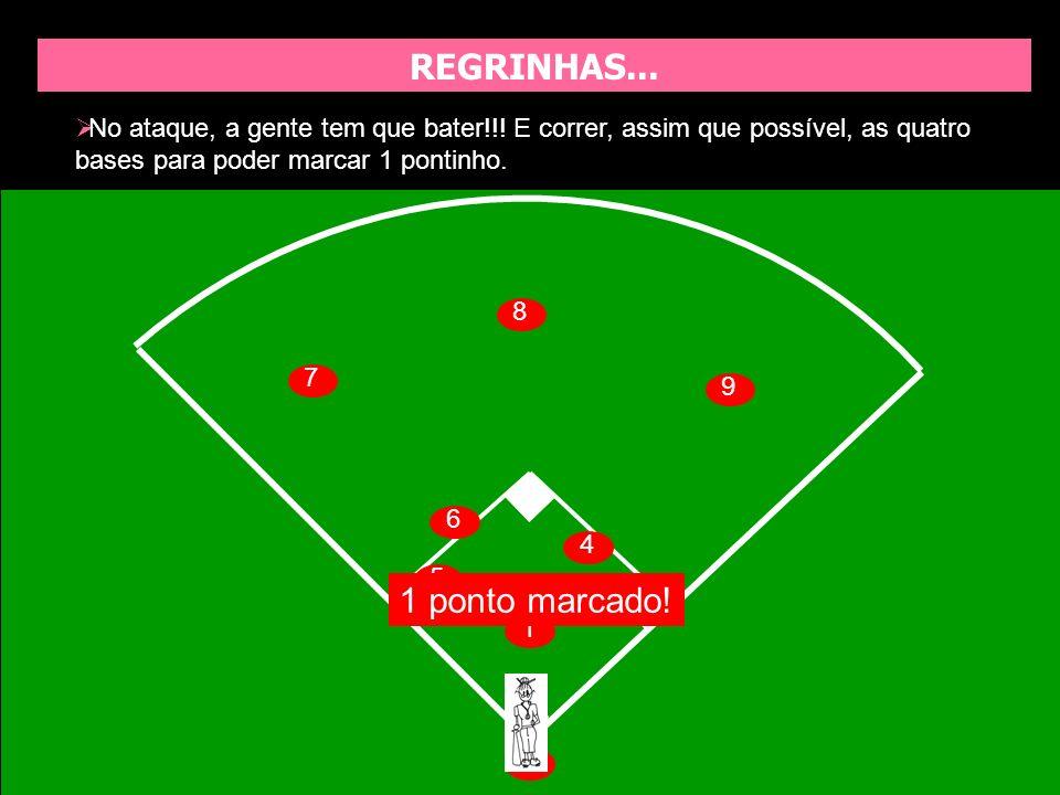 JOGADAS CANTADAS Naya Boru Fasto: É para o Naya (fasto, secando, sado, shoto, kyat) jogar a bola para a primeira base.
