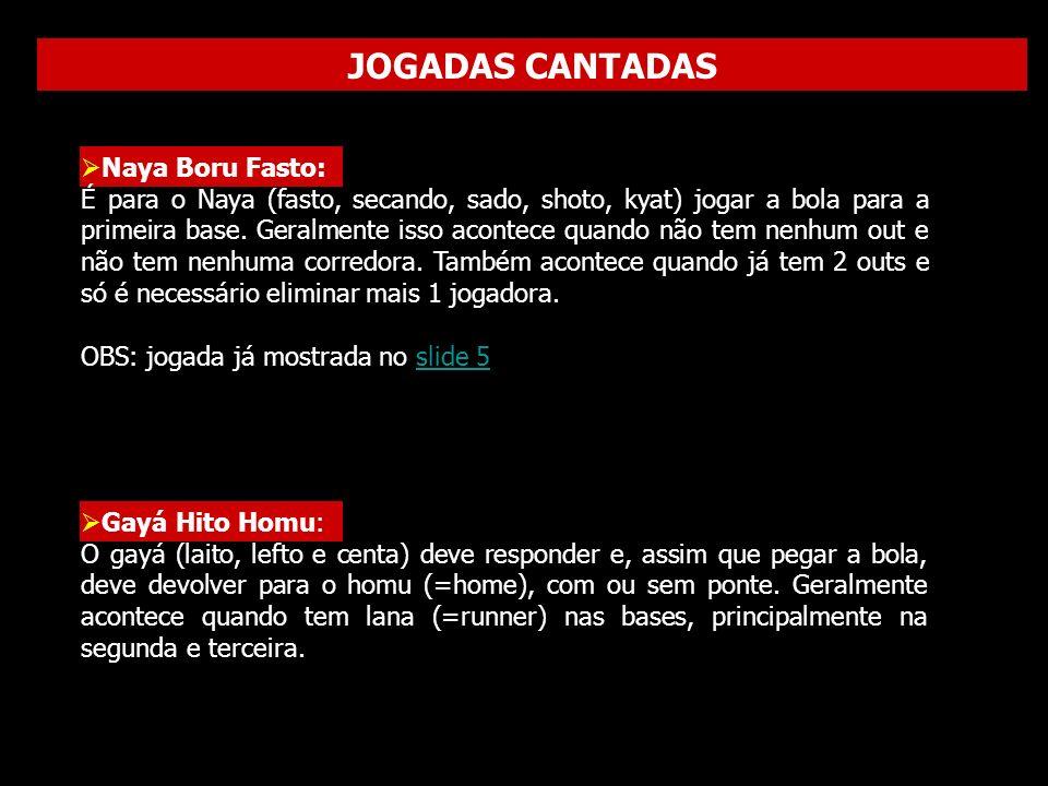 JOGADAS CANTADAS Dobrando...