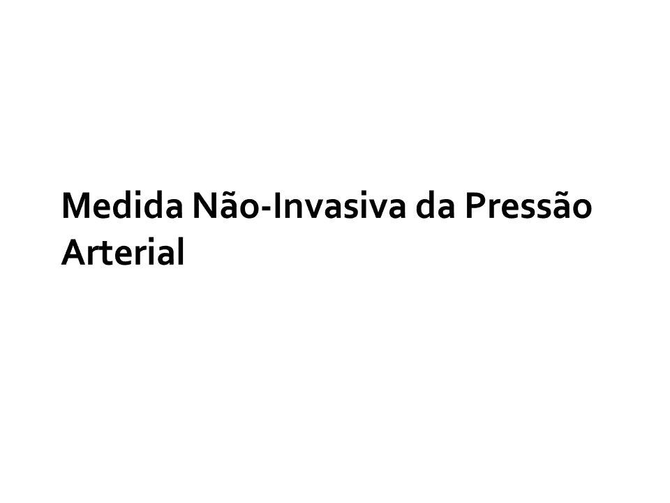 Medida Não-Invasiva da Pressão Arterial