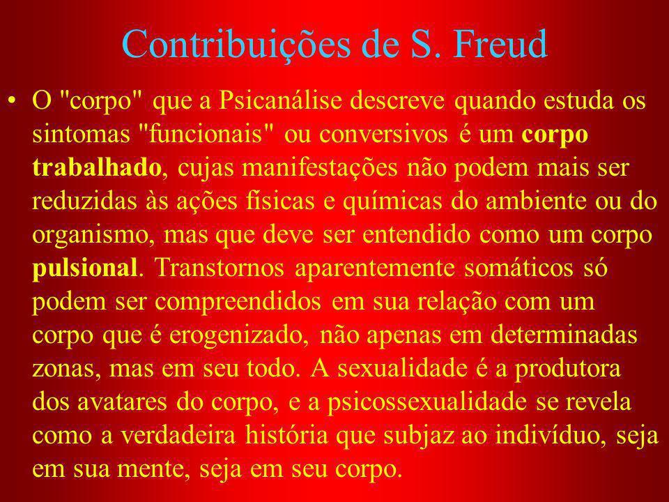 Contribuições de S. Freud O