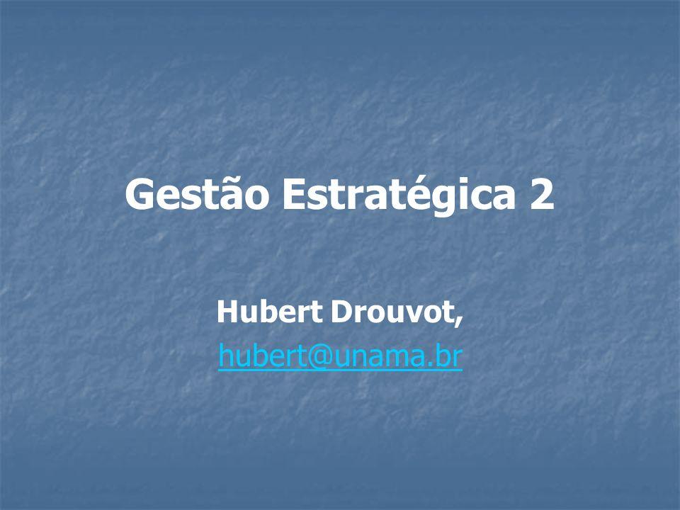 Gestão Estratégica 2 Hubert Drouvot, hubert@unama.br