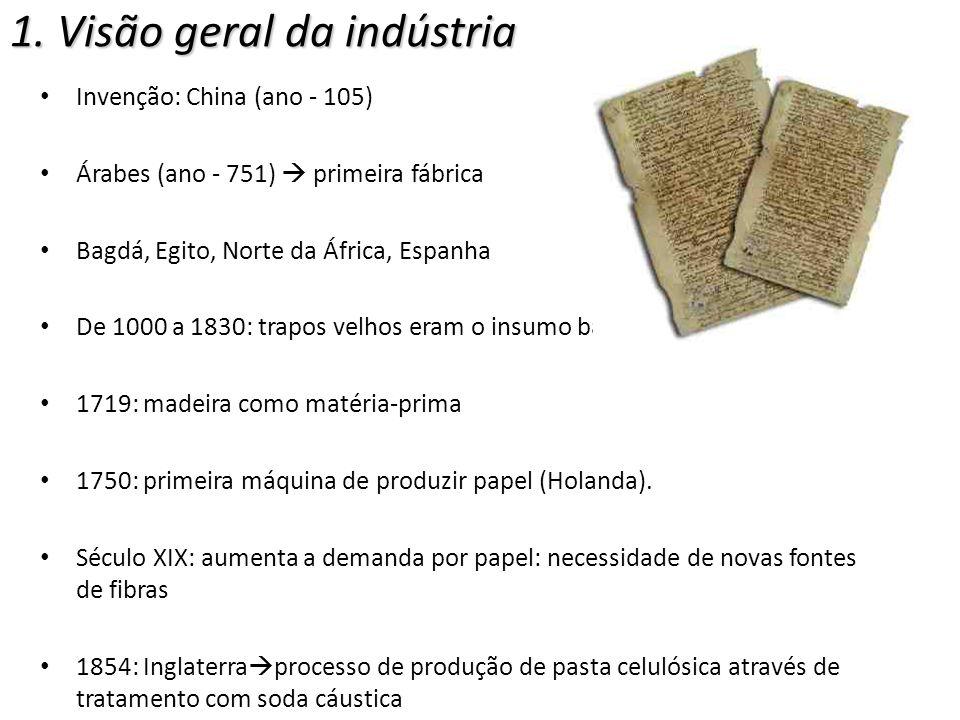 Celulose - Parâmetros utilizados para classificação: (a)tipo de madeira ou fibra da qual é feita -Curta: eucalipto -Longa: pinheiro (b) forma como a madeira ou fibra é processada - Celulose mecânica (c) se é branqueada.
