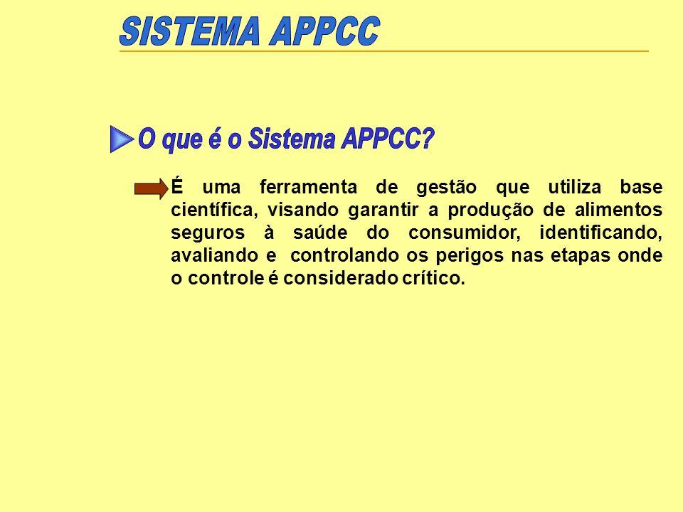 Identificação dos significativos e prováveis Caracterização das medidas de controle Identificação do ponto (etapa), no qual o controle é crítico (PCC)
