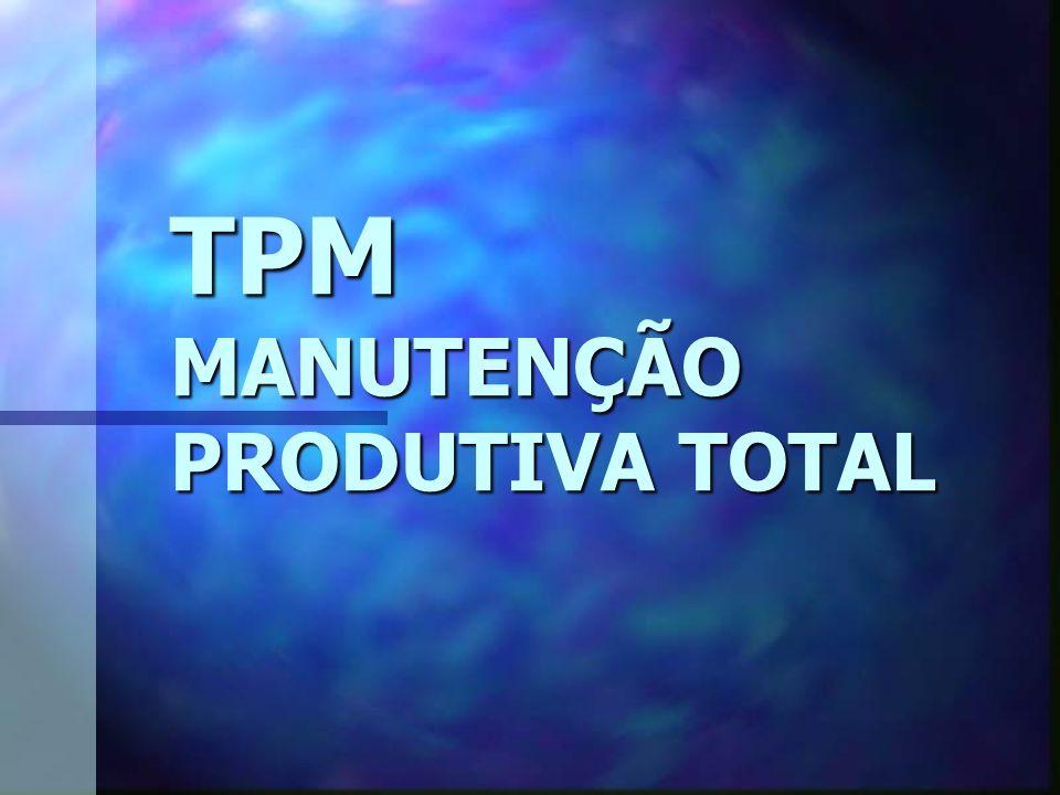 TPM MANUTENÇÃO PRODUTIVA TOTAL