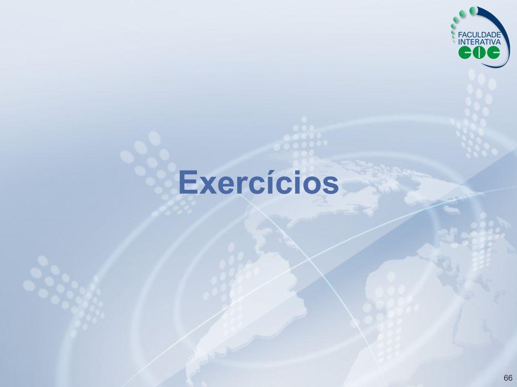 66 Exercícios