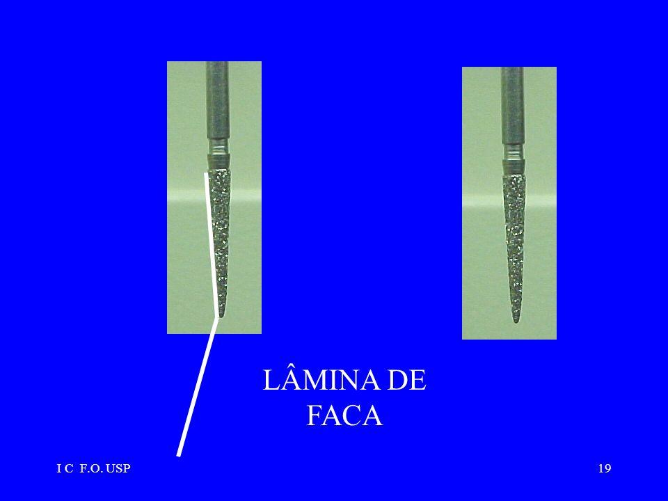 I C F.O. USP19 LÂMINA DE FACA
