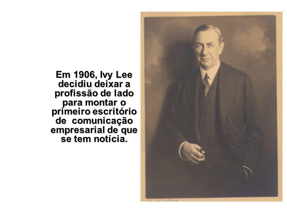 O objetivo de Lee: recuperar a credibilidade do empresário John D.