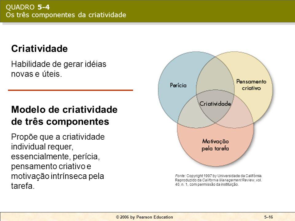 © 2006 by Pearson Education5–15 QUADRO 5-3 Passos do modelo de tomada de decisões racionais