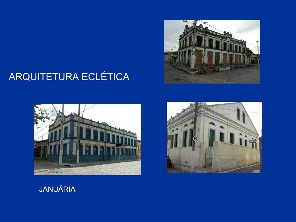 JANUÁRIA ARQUITETURA ECLÉTICA