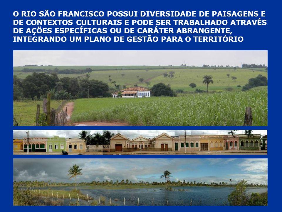 PATRIMÔNIO CULTURAL DO RIO SÃO FRANCISCO