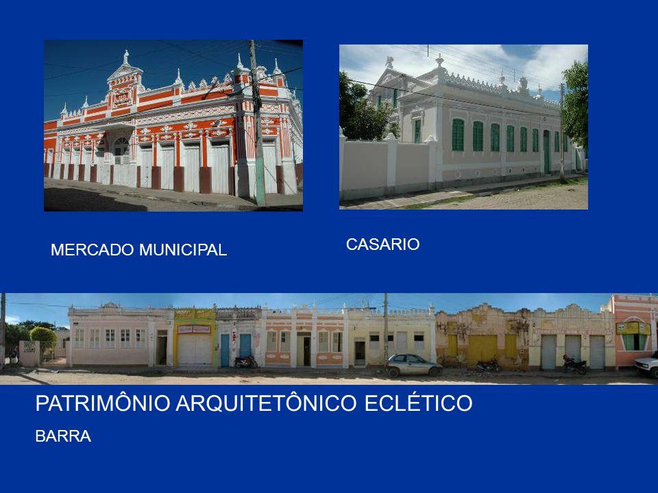 MERCADO MUNICIPAL PATRIMÔNIO ARQUITETÔNICO ECLÉTICO BARRA CASARIO