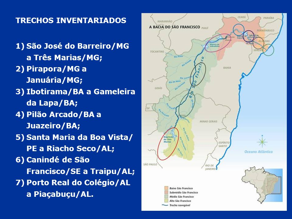 DELMIRO GOUVEIA TRECHO 5 – SUMÉDIO E BAIXO SÃO FRANCISCO (BA, PE, AL E SE)