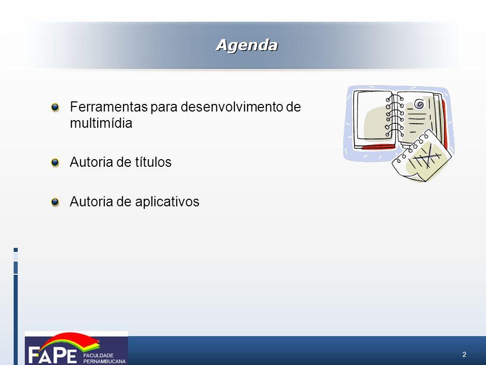 23 Autoria de aplicativos com interface multimídia – Exemplo: Visual Basic Autoria de aplicativos
