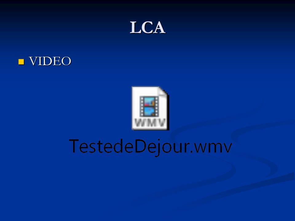 LCA VIDEO VIDEO