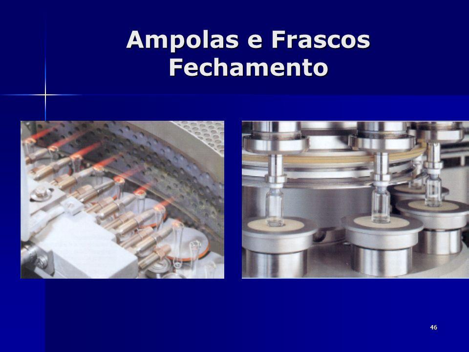 46 Ampolas e Frascos Fechamento