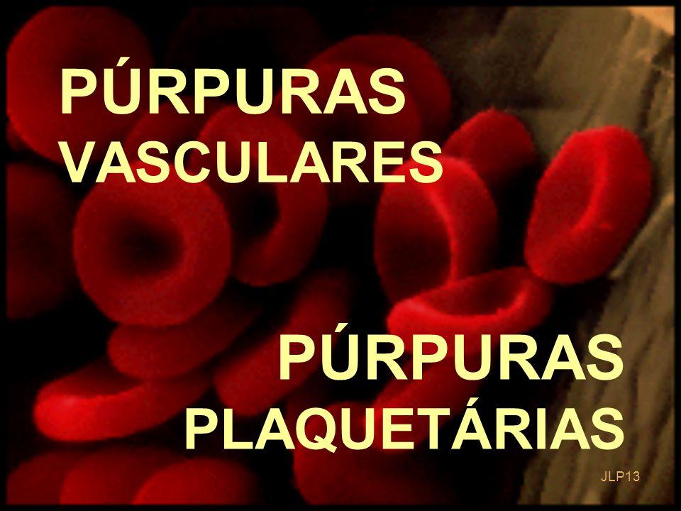 JLP 13 PÚRPURAS PLAQUETÁRIAS PÚRPURAS VASCULARES