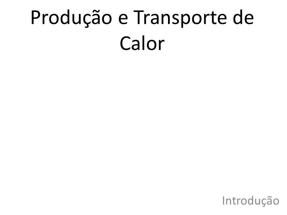Produção e Transporte de Calor Introdução