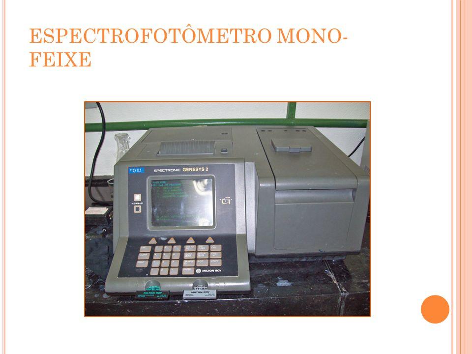 ESPECTROFOTÔMETRO MONO- FEIXE