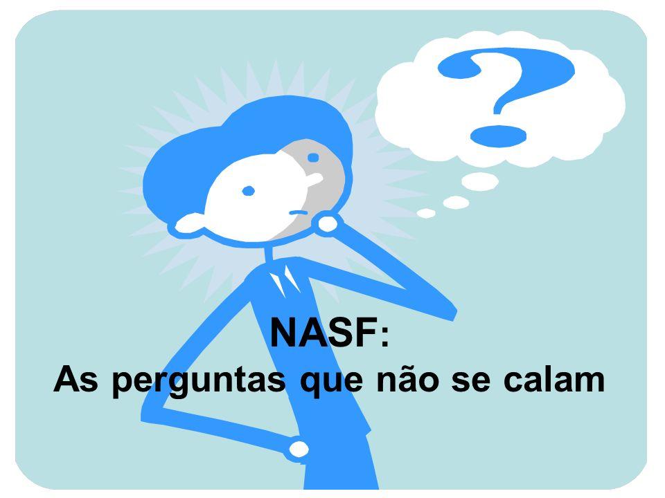 NASF : As perguntas que não se calam