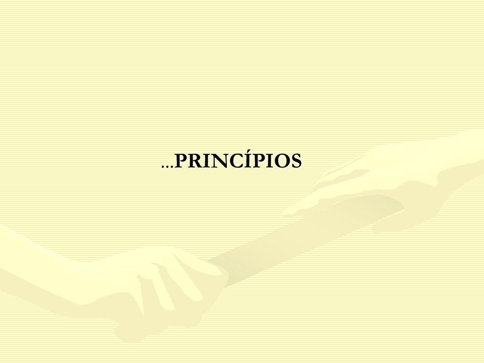 ...PRINCÍPIOS...PRINCÍPIOS