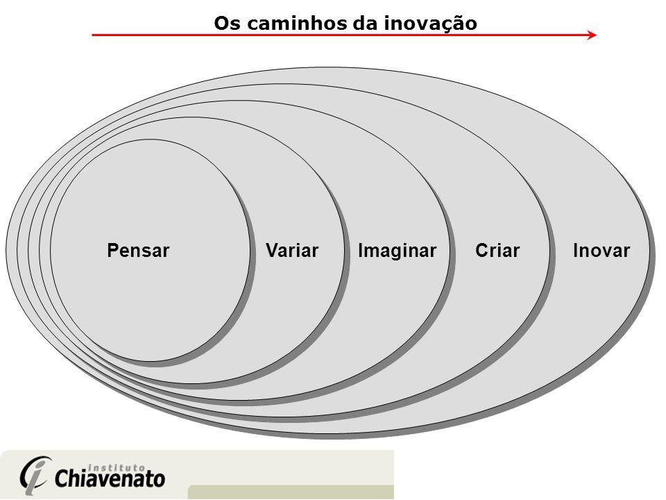 Pensar Variar Imaginar CriarInovar Os caminhos da inovação